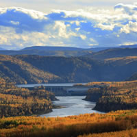 Hudson's Hope – for days gone by and modern explorers. This small town in the Peace River district has a proud history, from early explorers and settlers to the building of the mighty dams in its neighbourhood.