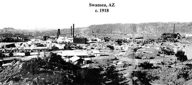 Swansea, Arizona circa 1918