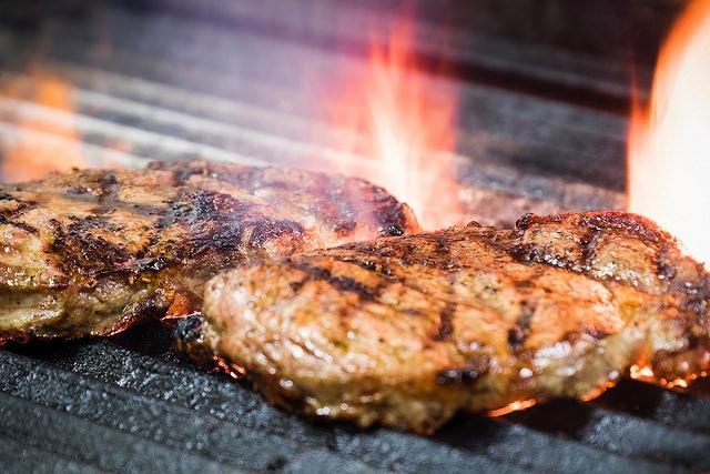 John's Plate's specialty is steak.