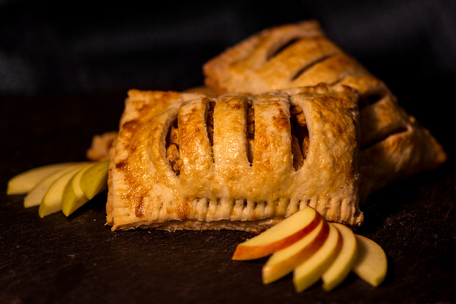 An apple turnover made by Maria Aryan, owner of the Fork food truck in Creston, B.C.