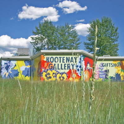 Kootenay Gallery of Art has been showcasing art to the rural community of Castlegar for the last 40 years.