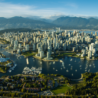 Vancouver does have beautiful, sunny days.