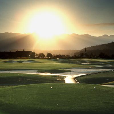St. Eugene Golf Resort and Casino basks in the sunlight