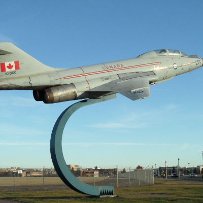 The Alberta Aviation Museum in Edmonton, Alberta, is full of Canadian aircraft.