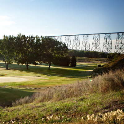 Bridge Valley Golf has a nine-hole, par-3 course, practice putting greens, 18-hole mini-putt and a new and improved driving range.