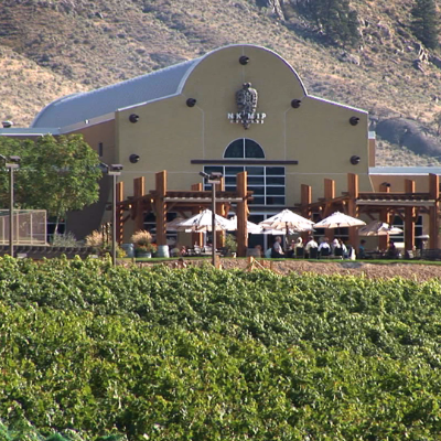 Nk'Mip Cellars Winery and Vineyard in Osoyoos, B.C.