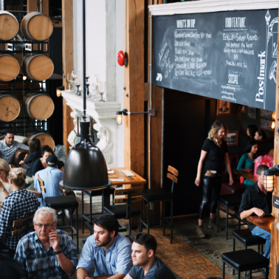 Vancouver Urban Winery's interior