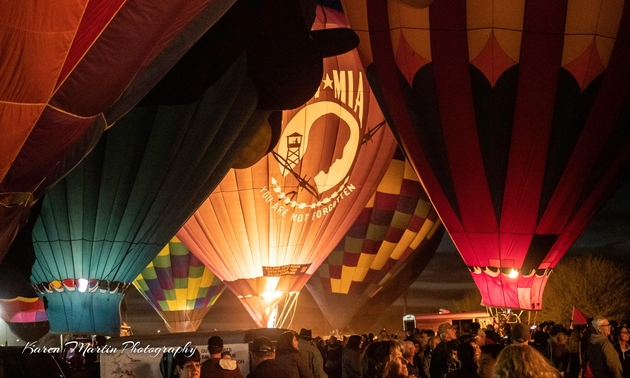 balloons at the festival