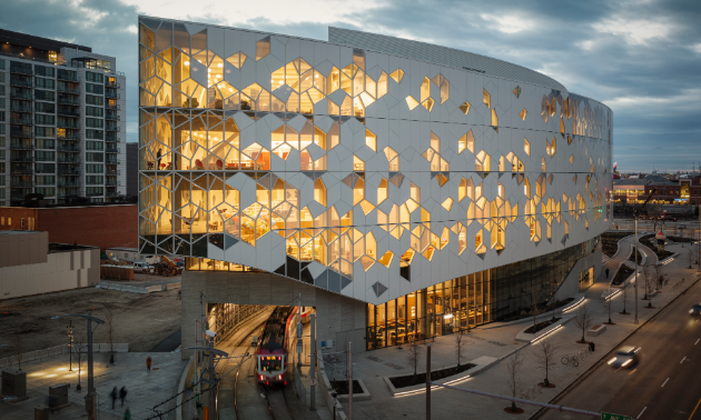 Calgary's new Central Library is a spectacle.