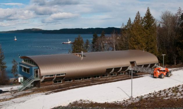 Vancouver Island University's Deep Bay Marine Field Station overlooks Baynes Sound, one of B.C.'s largest shellfish production areas.