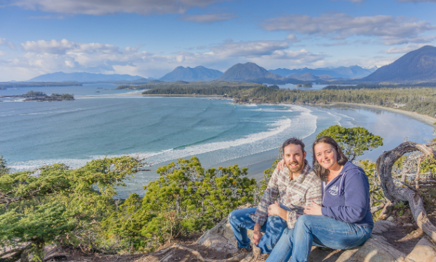 McCallum and Doolittle ended their trip across Canada on Vancouver Island in Tofino, B.C.