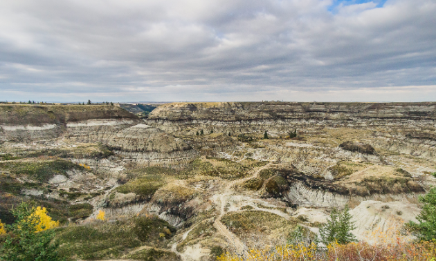 Travelling across Canada offers RVers some stunning sights, like these hoodoos in Drumheller, Alberta.