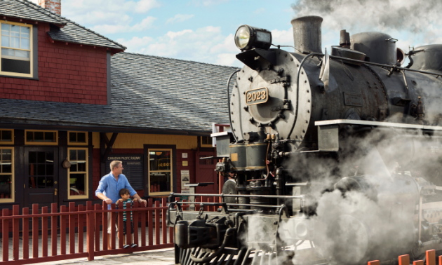Heritage Park's Main Street will make you feel like you've stepped through a time machine into a simpler time.