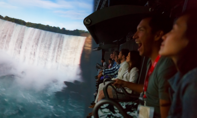 FlyOver Canada's Flight Simulation showcases Canada in a whole new interactive way.