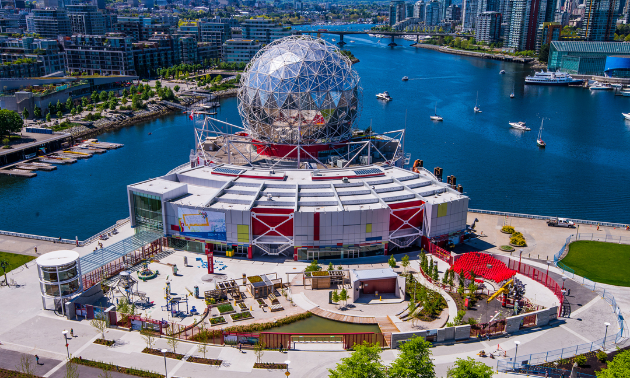Science World is fun and educational for all ages.