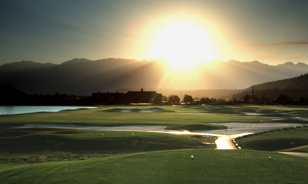 St. Eugene Golf Resort and Casino basks in the sunlight