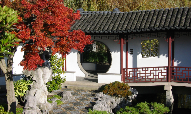 Plants play a vital role in the design of classical Chinese gardens.