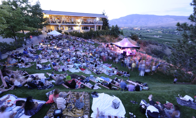 The Canadian Concert Series returns to Tinhorn Creek this summer.