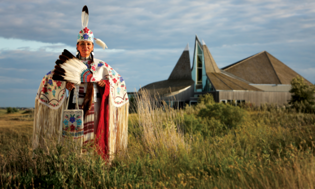 Learn about the First Nations culture, and enjoy the beautiful scenery and trails at Wanuskewin Heritage Park.