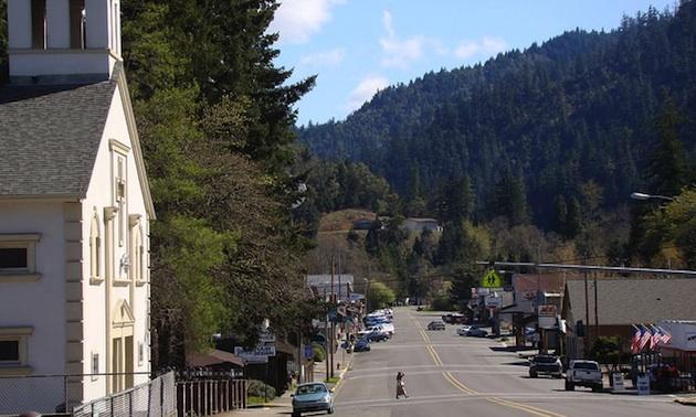 Canyonville, Oregon.