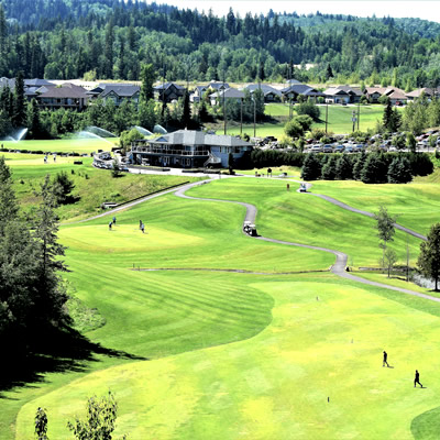 Aberdeen Golf Course in Prince George, B.C.