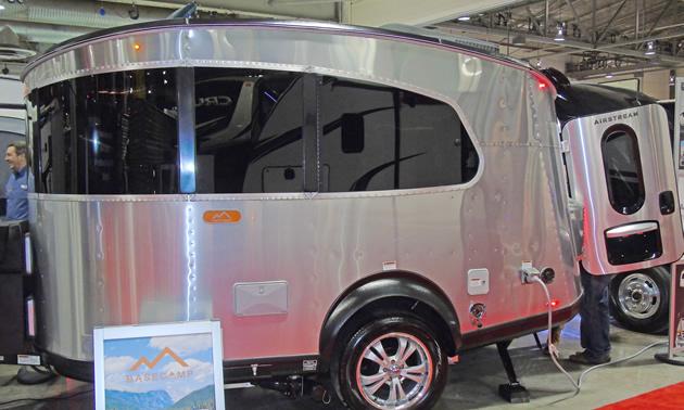Airstream Basecamp travel trailer