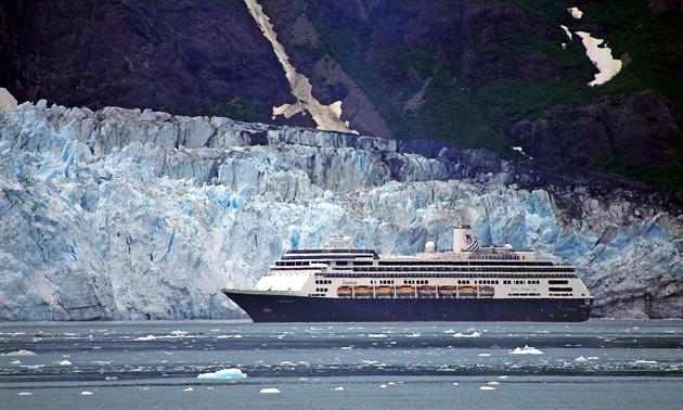 Ferry trip near Alaska Peninsula, panhandle and interior