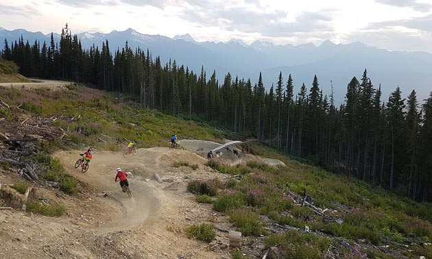 The Valemount and Area Recreation Development Association will be adding trails to the Valemount Bike Park with support from Columbia Basin Trust's Trail Enhancement Grants.