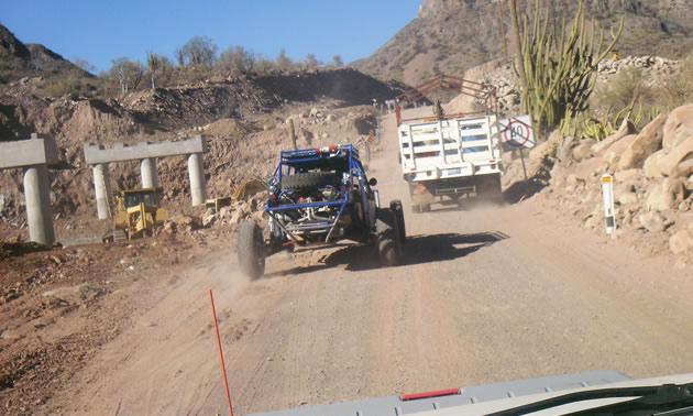 Baja road race.