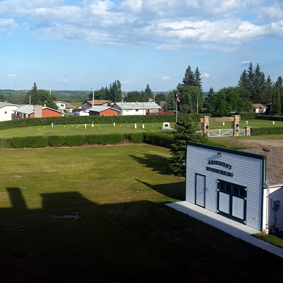 The town of Battleford is a quaint and pretty staple in central Saskatchewan.