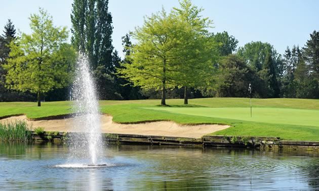 Beach Grove Golf Club.  Hole No.14.
