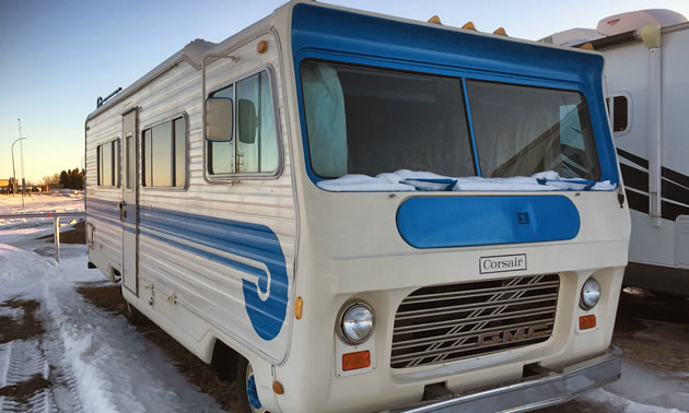 A circa 1970s motorhome built by the Bendix Corporation.