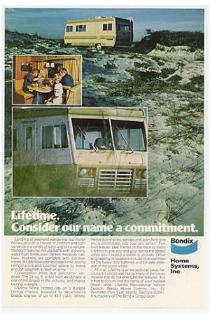 A vintage Bendix Lifetime advertisement.