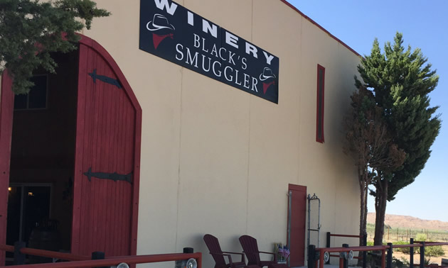 Black's Smuggler Winery is located in the Rio Grande Valley near Socorro, New Mexico.