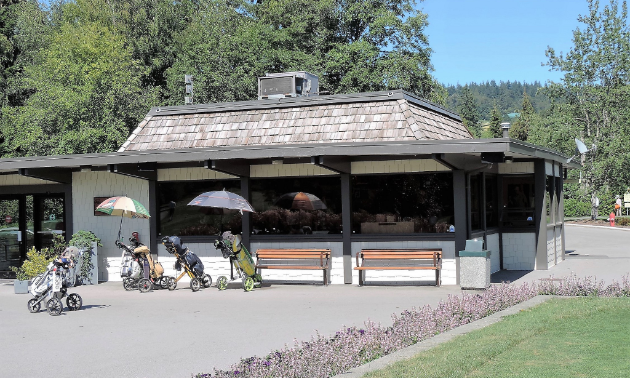 Keeping the appropriate pace of play allows you to have time to visit the Burnaby Mountain pro shop.