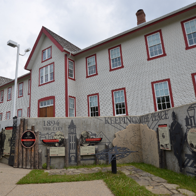 Fort Calgary is located on the same land on which the Northwest Mounted Police built the original fort in 1875.