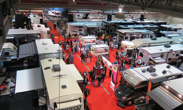 The Calgary RV Expo and Sale, 2013.