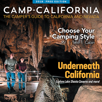 The 2019 edition of the Camp California! RV guide.