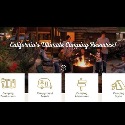 Website of Camp California.