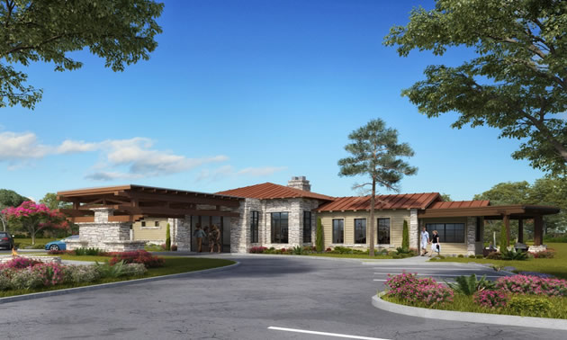 Artist rendering of Verde Ranch clubhouse.