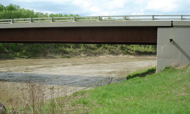 Flatbush, where the Pembina and Athabasca Rivers meet.