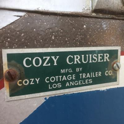 Cozy Cruiser logo.