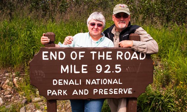 At the end of the Denali Park Road, Denali National Park, AK.