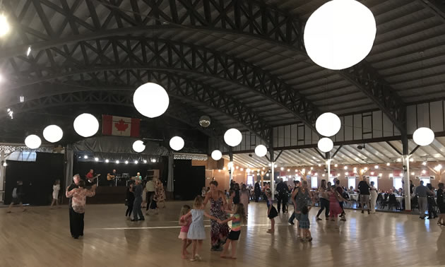 Everyone from grandparents to grandkids are on the dancefloor at Danceland.