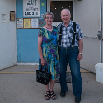 Lester and Agnes Orson have regularly crossed the threshold of Danceland for 57 years and counting.