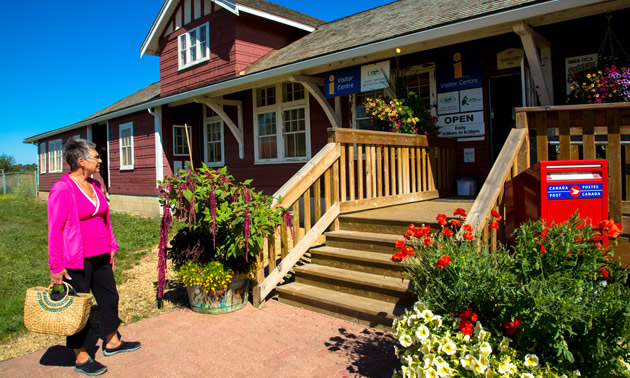 Dawson Creek, B.C., visitor centre