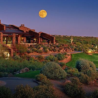 Desert Mountain Country Club in Arizona.