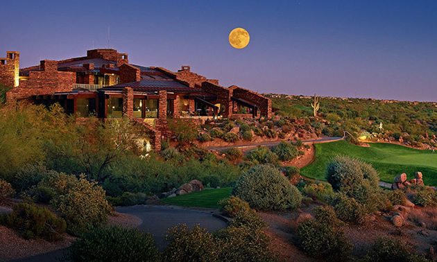 Desert Mountain Country Club in Arizona.