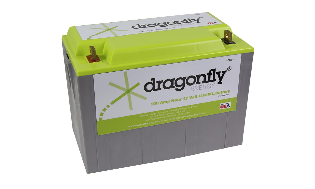 Lithium battery.