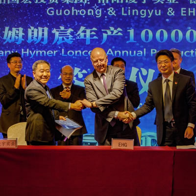 The establishment of a joint venture with the Chinese manufacturer Loncen was announced at the Caravan Salon in Düsseldorf.